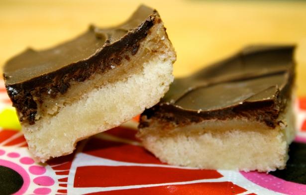 Nancy's Chocolate Caramel Shortbread Bars